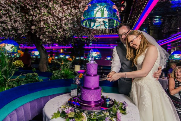 Retro Reception at The Peppermill | Little Vegas Wedding