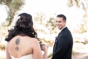 First Look | Little Vegas Wedding