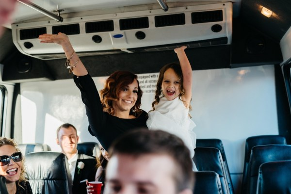 Party Bus | Little Vegas Wedding