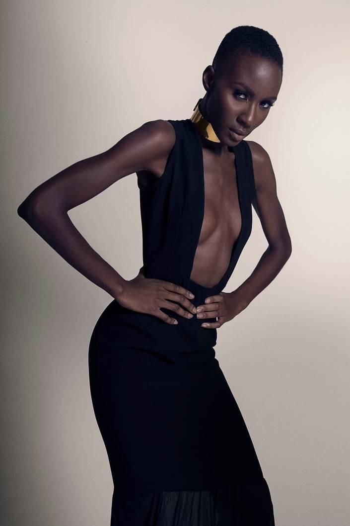 Destiny Ohwawa Hi-Fashion in Studio Shot By Bryant Littrean