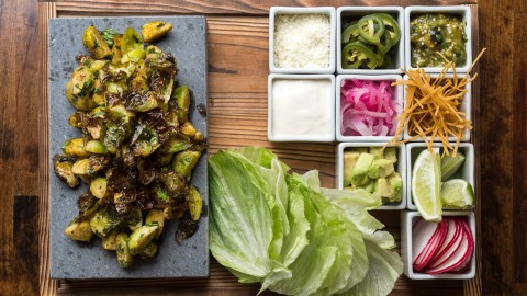 Dirt Candy's brussels sprouts tacos are proof that vegetarian dining has never been more alive in NYC.