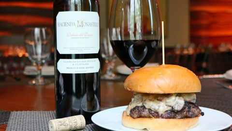 Pair Wine With Burgers