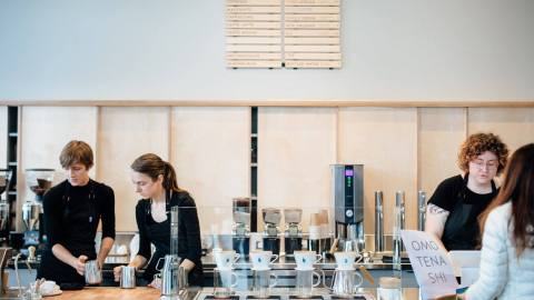 independent coffee shops
