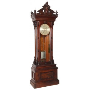Invigorating Clock Auction Large Clocks Large Tripod Clock Standing Astronomical Regulator Clock Rarities Stand Out
