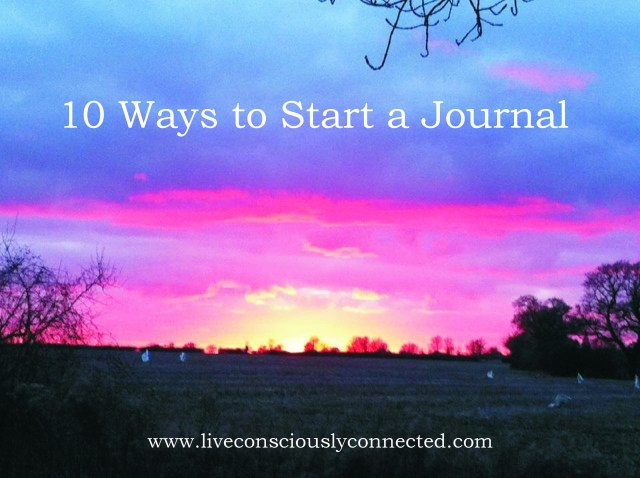 10 Ways to Start a Journal Image
