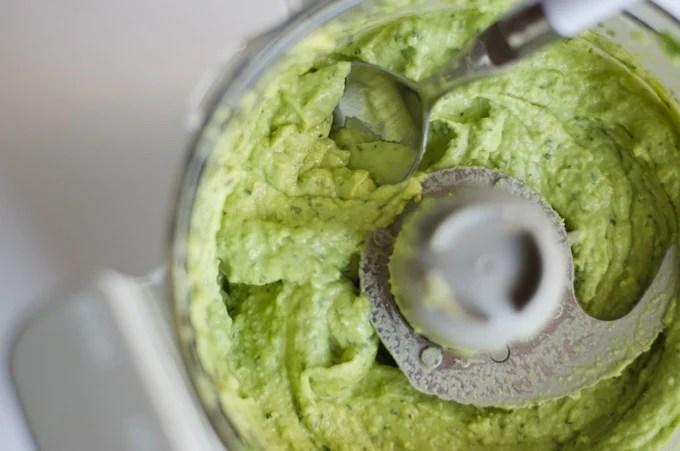zucchini pasta with creamy avocado pesto live eat learn. Black Bedroom Furniture Sets. Home Design Ideas