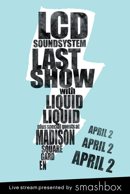LCD Soundsystem Final Show at MSG