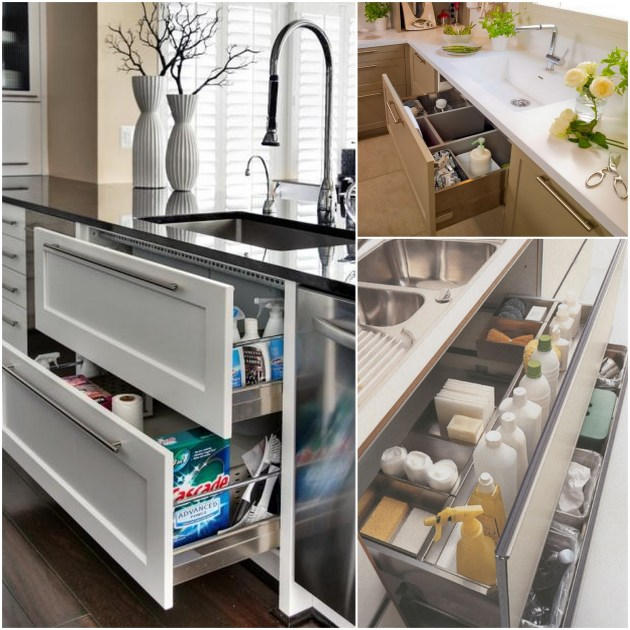 Picture Of Under Cooktop Kitchen Drawers: The Ideal Kitchen: Under Sink Drawers