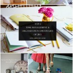 Top 5 Time Management & Organization Strategies of 2013