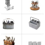 Flatware Caddies For Dining Al Fresco & Small Kitchen Spaces