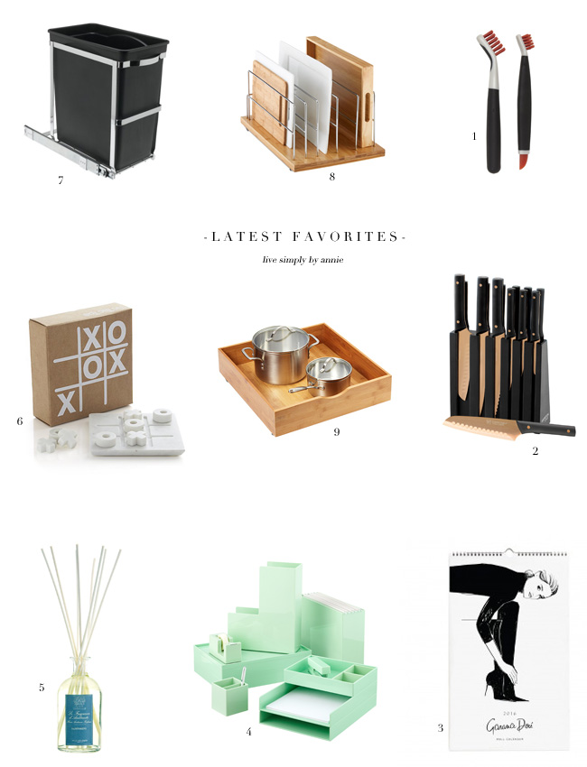 hand picked favorites from a professional organizer!