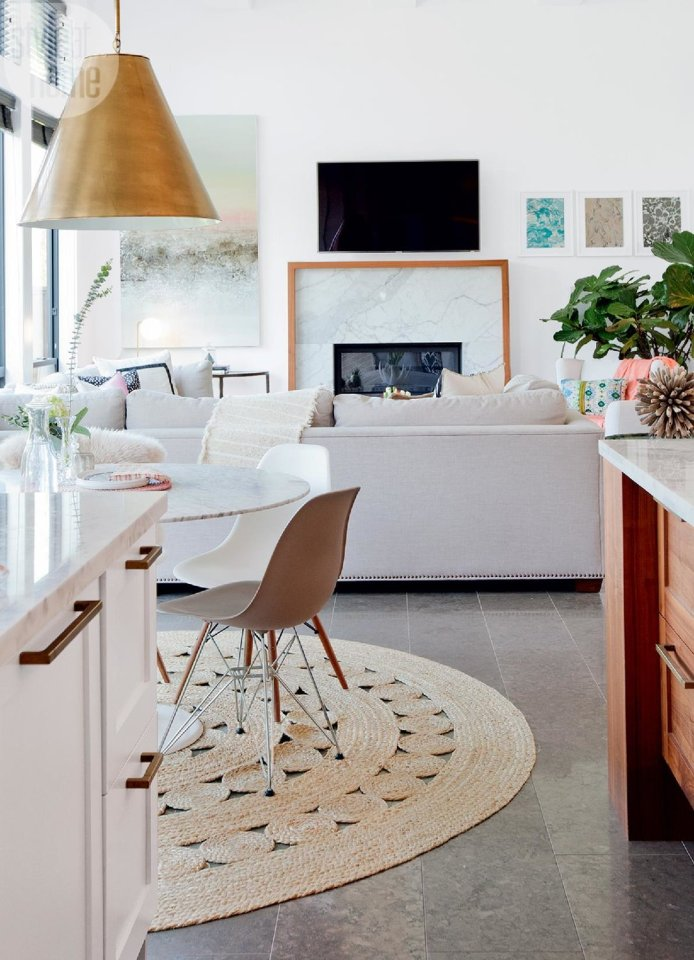 Take a tour of this family-friendly home that's totally trendy without trying too hard.