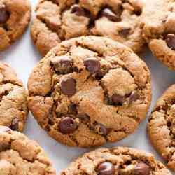 Posh Flourless Almond Butter Chocolate Chip Cookies1 Copy Eggless Sugar Cookies Without Butter Sugar Cookies Without Butter Baking Powder