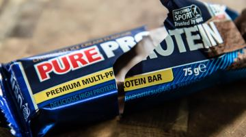 Protein Bar Close Up