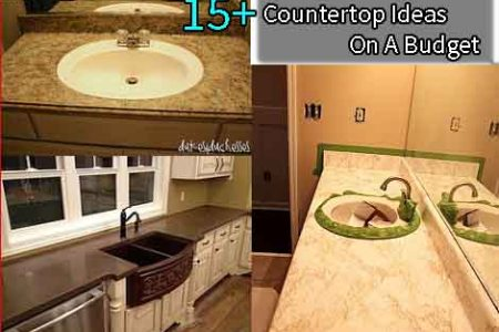 countertop ideas on a budget
