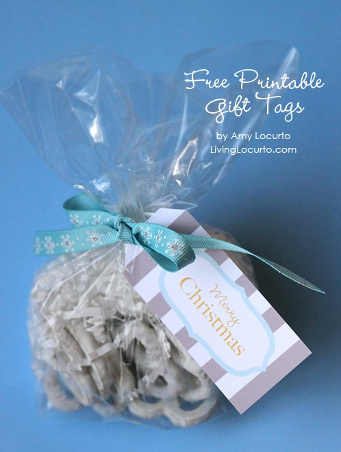 Free Printable Holiday Gift Tags by Amy Locurto | Living Locurto