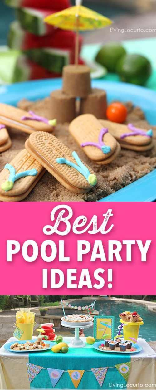 Medium Of Pool Party Ideas