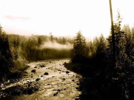 Snoqualmie River MIddle Fork, August 2013. Taken by