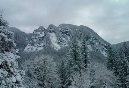 Mt Si from Ernie's Grove by Sue Beauvais