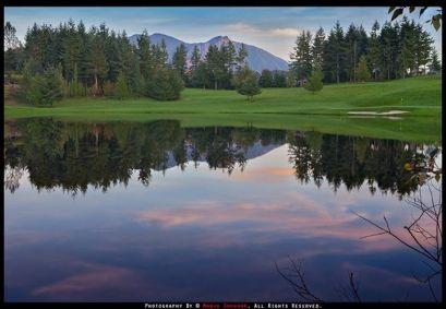 Eagle Lake at TPC Snoqualmie Ridge, October 2013. By Manju Shekhar