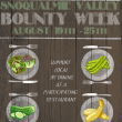 Bounty Week: A Celebration of Snoqualmie Valley-Grown Food, local Restaurants get into the Act