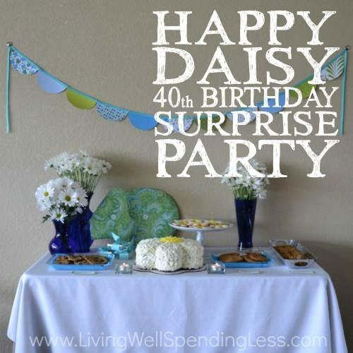 Medium Of Surprise Party Ideas