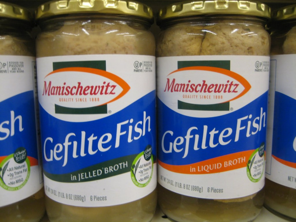gefilte fish jar