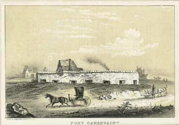 Fort Gansevoort, Coursey New York Public Library