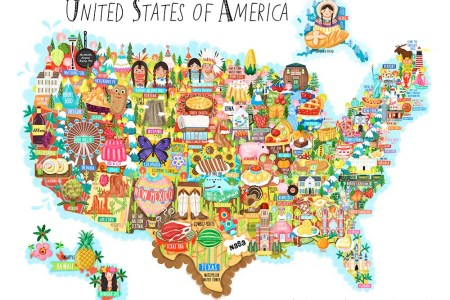 united states of america map illustration liv wan