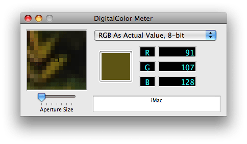 Digital Colour Metre - Instant Eyedropper for Mac