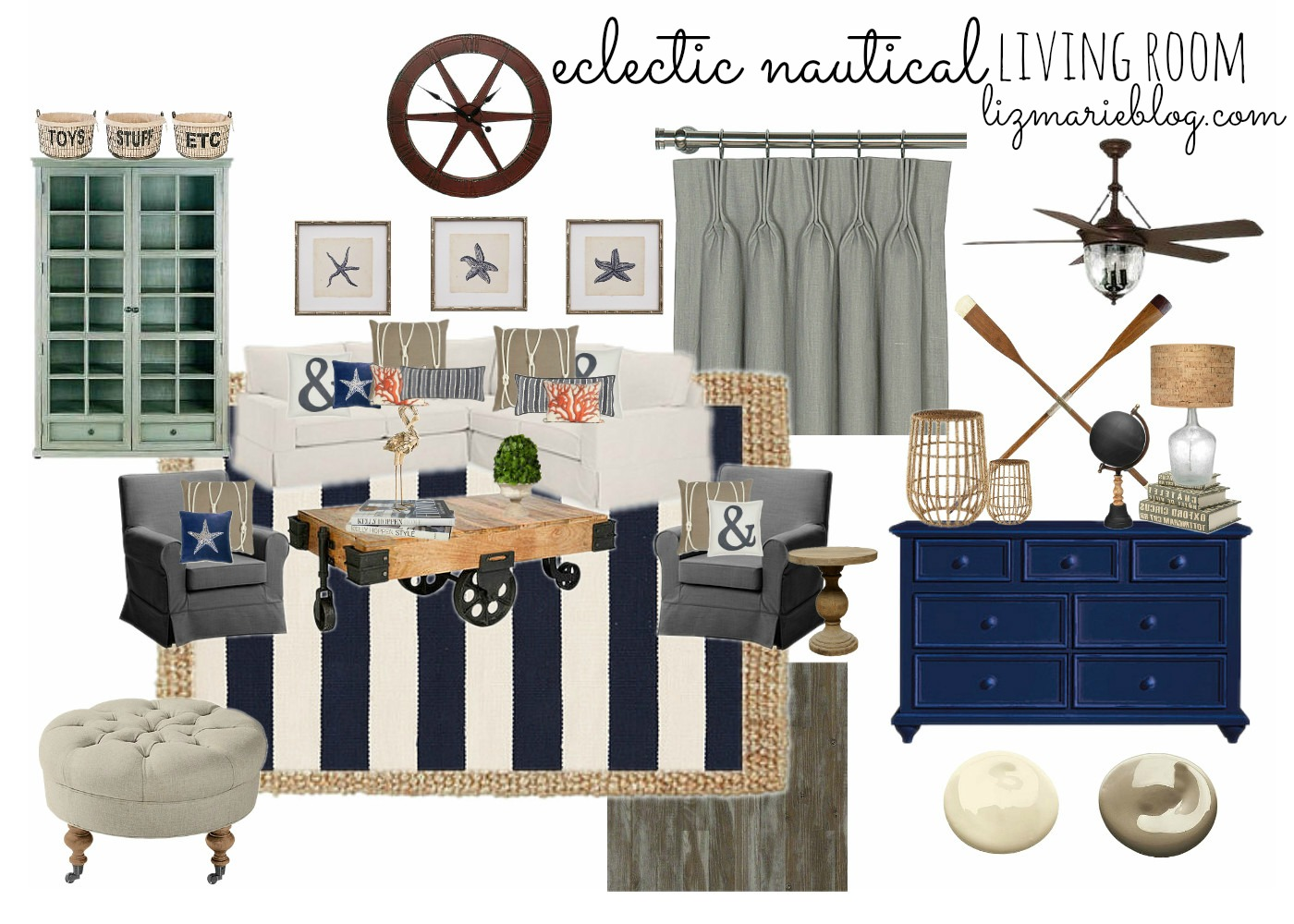 Nautical Living Room Joy Studio Design Gallery Best Design