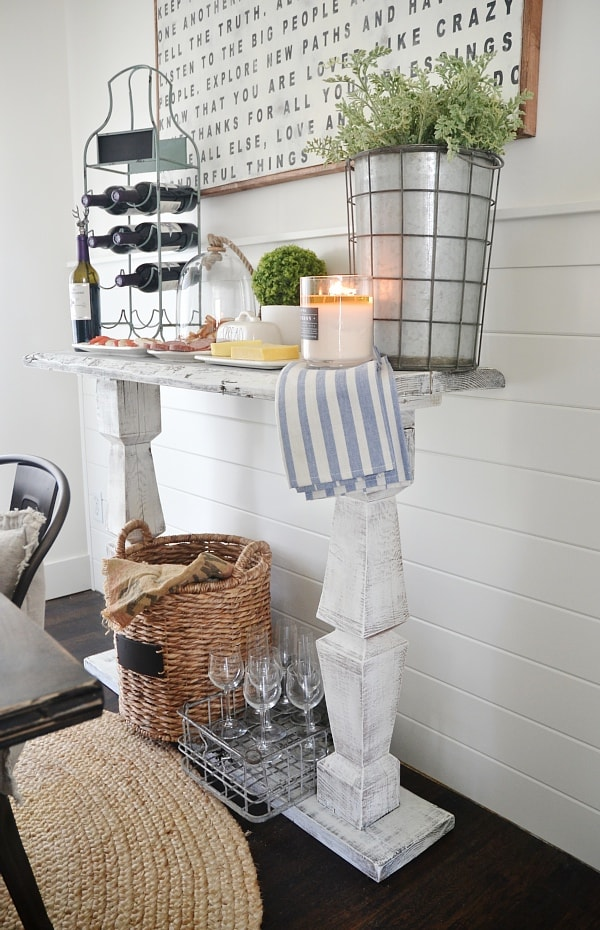 How To Build A Simple Buffet Table