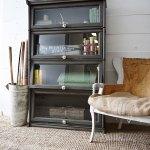 Vintage Bookshelf Makeover