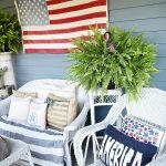 Farmhouse Patriotic Porch – Happy Fourth Of July!