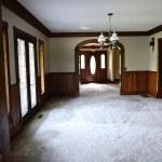 Farmhouse Dining Room – We Found Original Floors!!