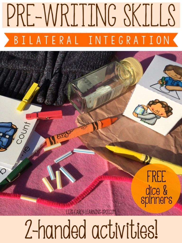 Pre-Writing Skills: Bilateral Integration