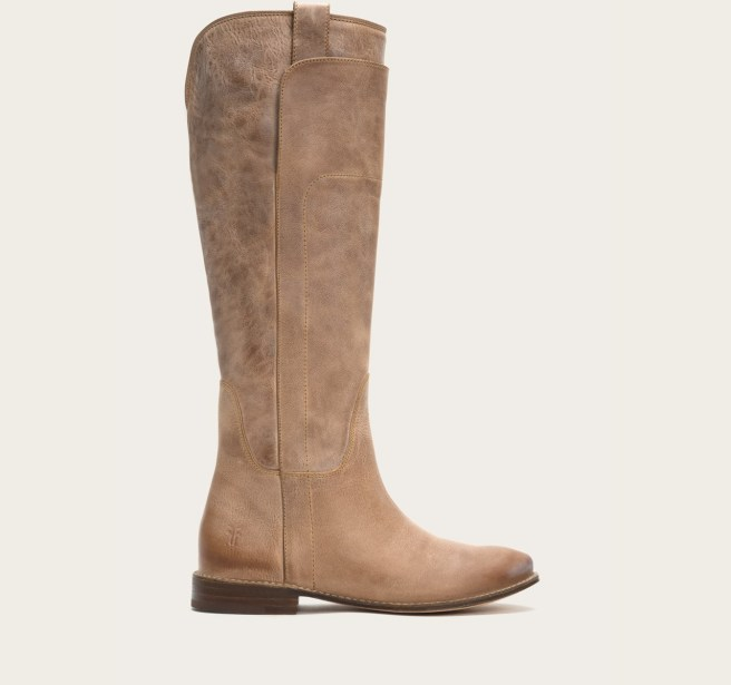 Frye Boots (Paige in tan)