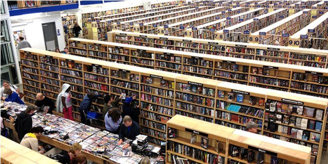 A bibliophile's dream!