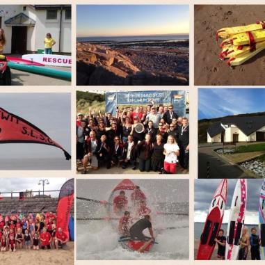 Llantwit Major Lifeguards Collage