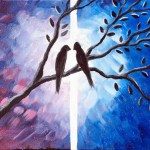 Valentine's Day | Paint 2 canvas's that hang side-by-side!!!