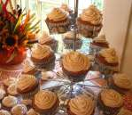 Pumpkin Spice Cupcakes with Pumpkin Cream Cheese Icing
