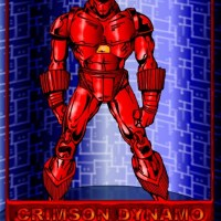 Crimson Dynamo (Coloured)