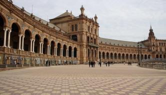 Sevilla: Reales Alcázares, Torre del Oro y Plaza de España