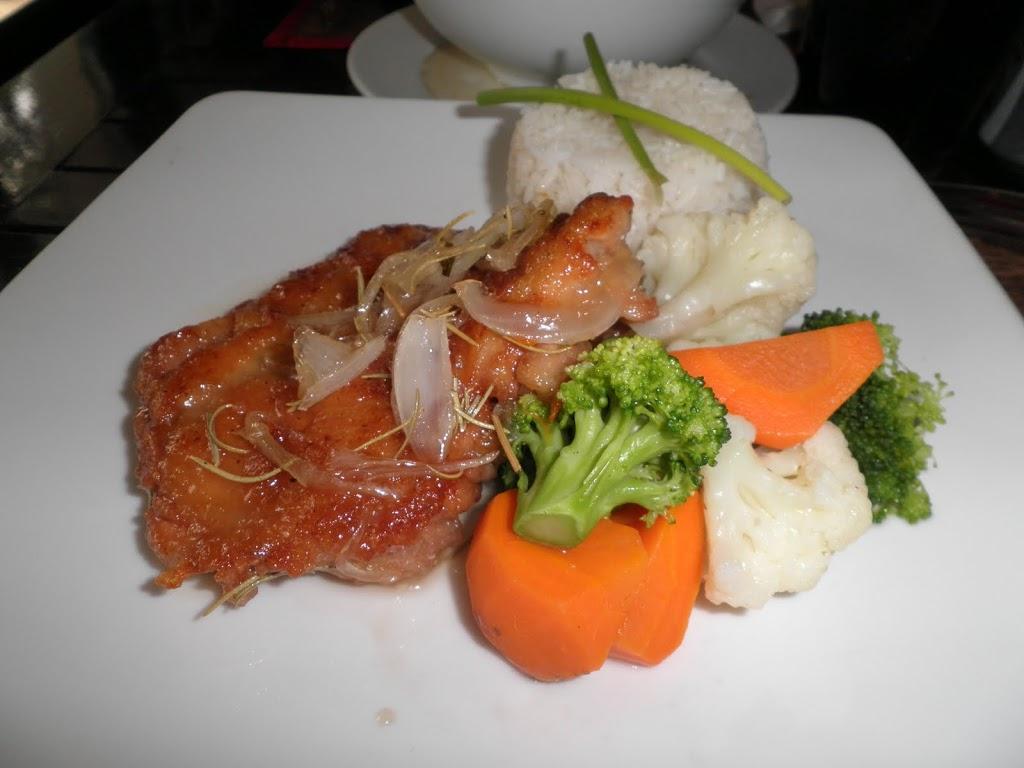 Restaurante KOTO: Pollo con limón y miel