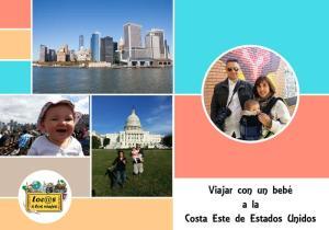 Guía: Viajar con un bebé a la Costa Este de EE.UU.