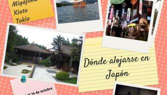 Dónde alojarse en Japón