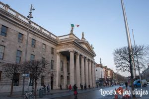 Dublin: Edificio de Correos y The Spire