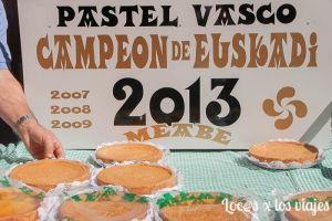 Pastel vasco en la Fiesta de la Vendimia de la Rioja Alavesa