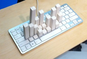 Michael Knuepfel - Keyboard Frequency Sculpture