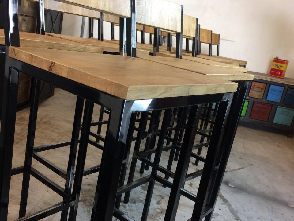 Tabouret bar industrielle